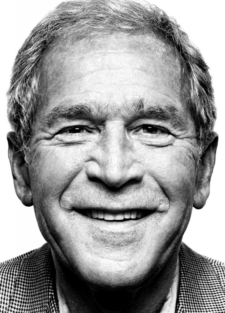 George-W-Bush-portrait-photography