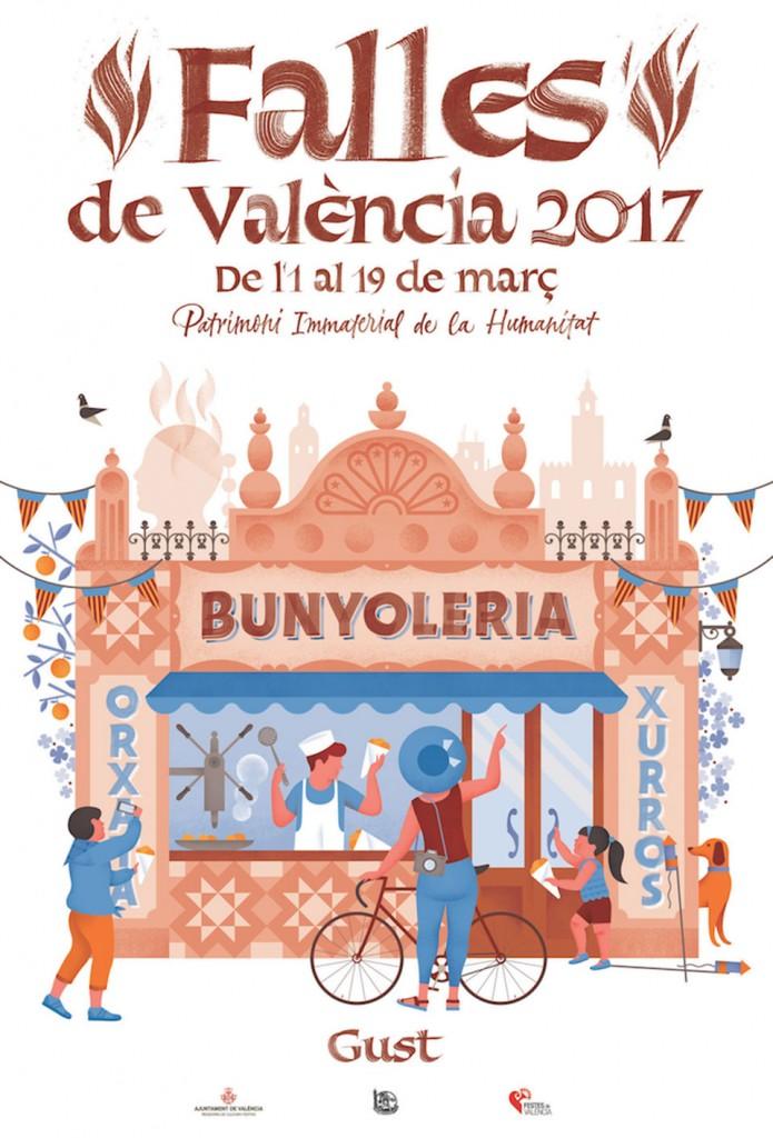 """GUST. """"Falles de València 2017"""""""