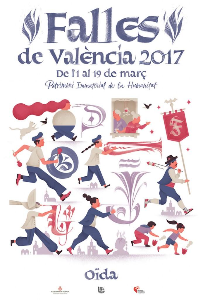 """OIDA. """"Falles de València 2017"""""""