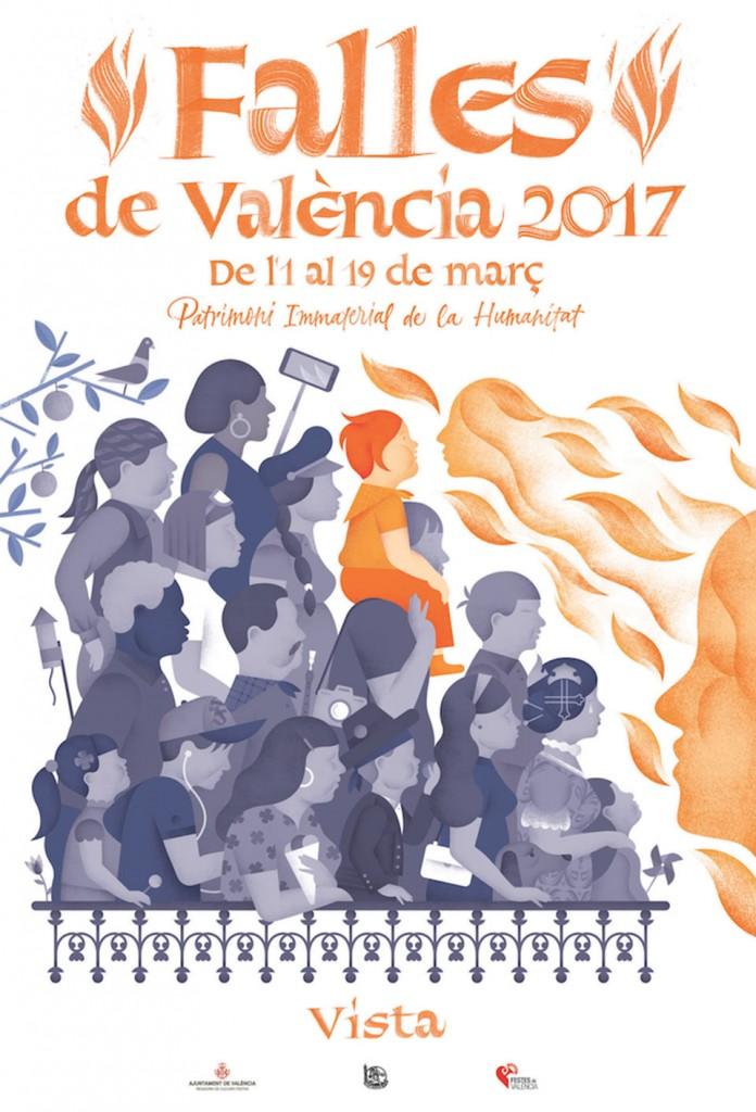 """VISTA. """"Falles de València 2017"""""""