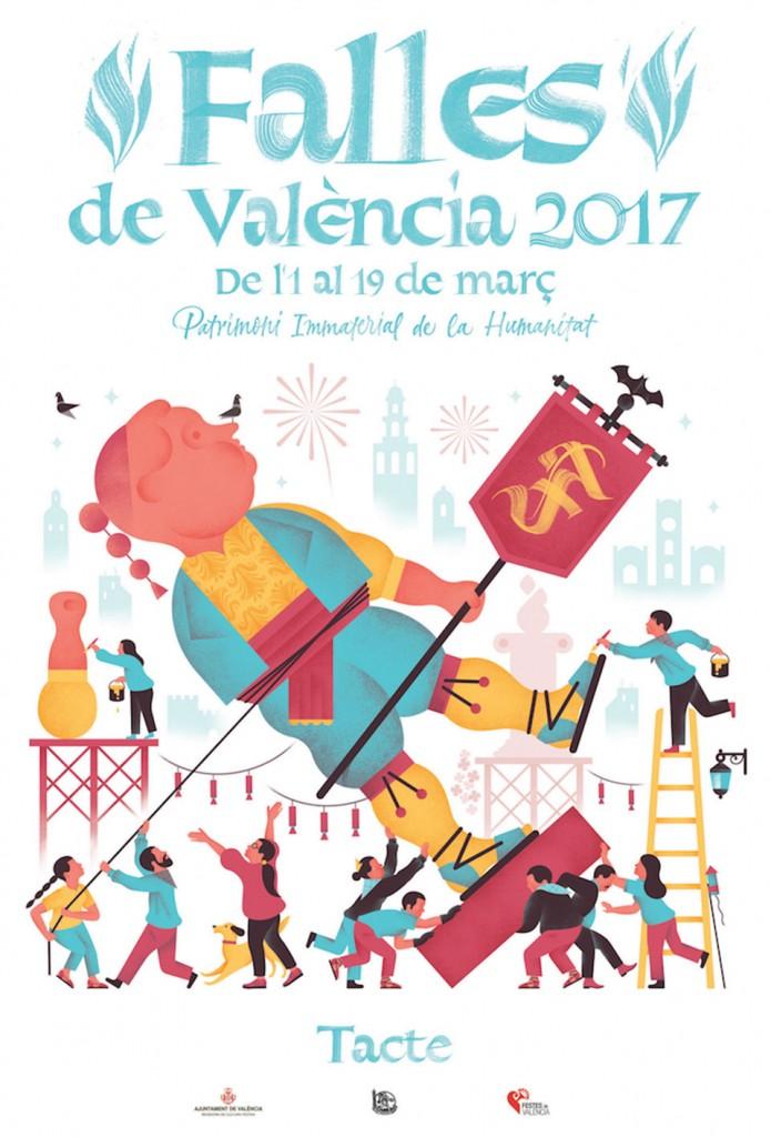 """TACTE. """"Falles de València 2017"""""""